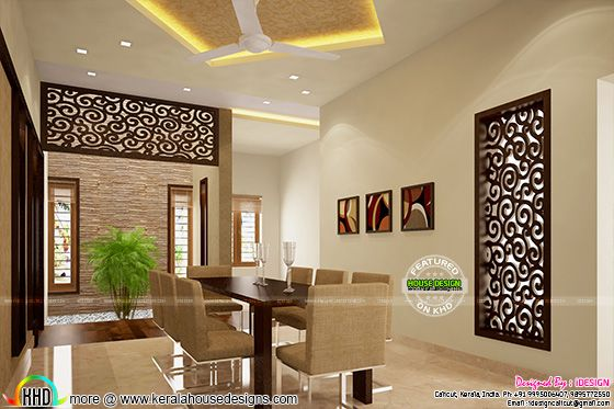 New dining interior concept
