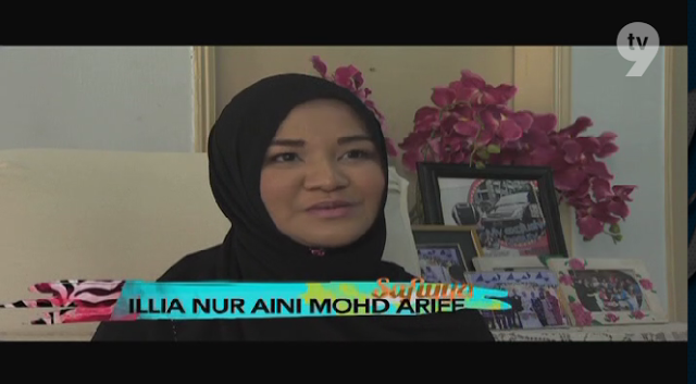Featured as Blogger Pilihan on TV Program Safiyya TV9 - New Year Edition 2014