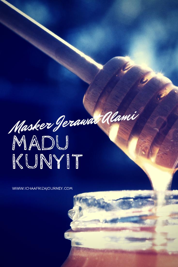 Madu + Kunyit + Susu = Masker Jerawat Alami