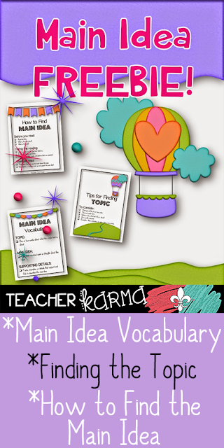 main idea and details teacherkarma.com