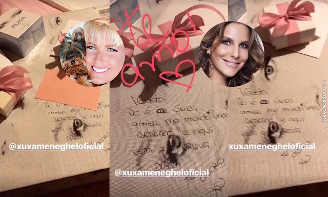 Sortuda, Ivete Sangalo ganha livro de luxo com fotos da amiga Xuxa