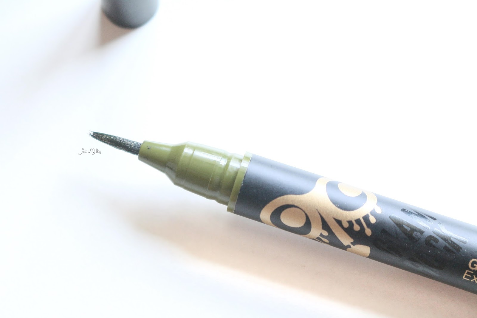 eyeliner, glam rock, too cool for school, makeup, review, swatch