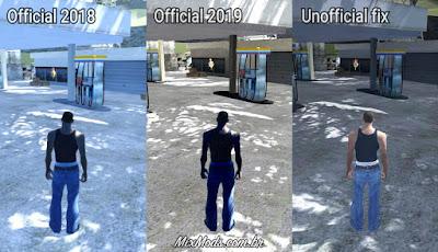 gta sa mod hd graphics renderhook fix download