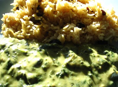 Green Tea & Curry Rice