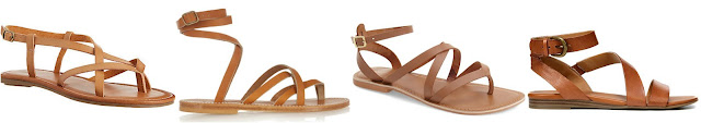 One of these pairs of sandals is from K. Jacques for $280 and the other three are under $50. Can you guess which one is the more expensive pair? Click the links below to see if you are correct!