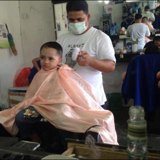 My Baby boy potong rambut
