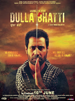 Poster Of Pollywood Movie Dulla Bhatti Wala 2016 300MB WebHD 480P Full Punjabi Movie