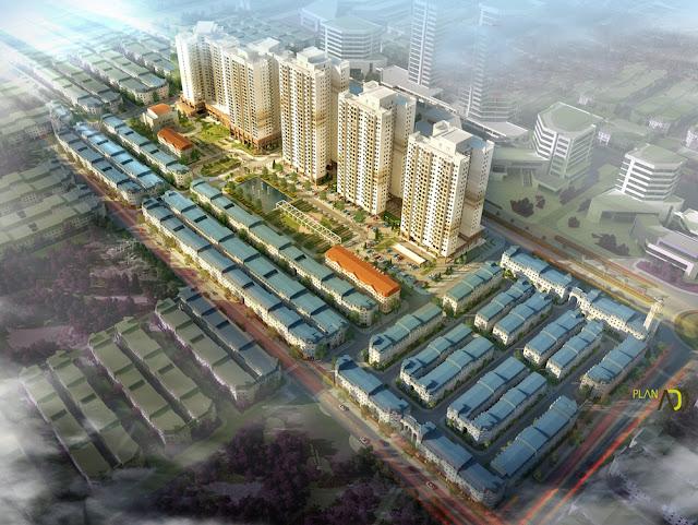 Toàn cảnh dự án The K Park Văn Phú
