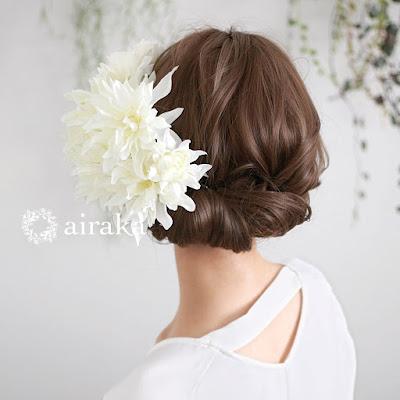 リリーの髪飾り_airaka