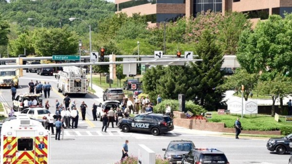 Several killed at The Capital newspaper in Annapolis