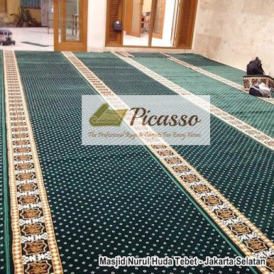 Toko Karpet Masjid, Karpet Masjid Polos, Karpet Sajadah Tebal