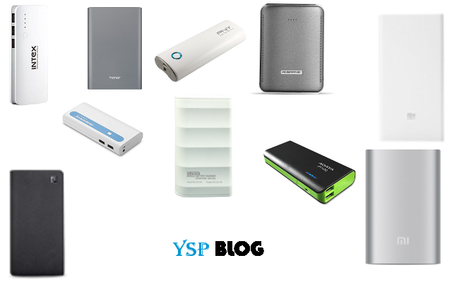 Top 10 Best and Most Popular Powerbanks in India 2017