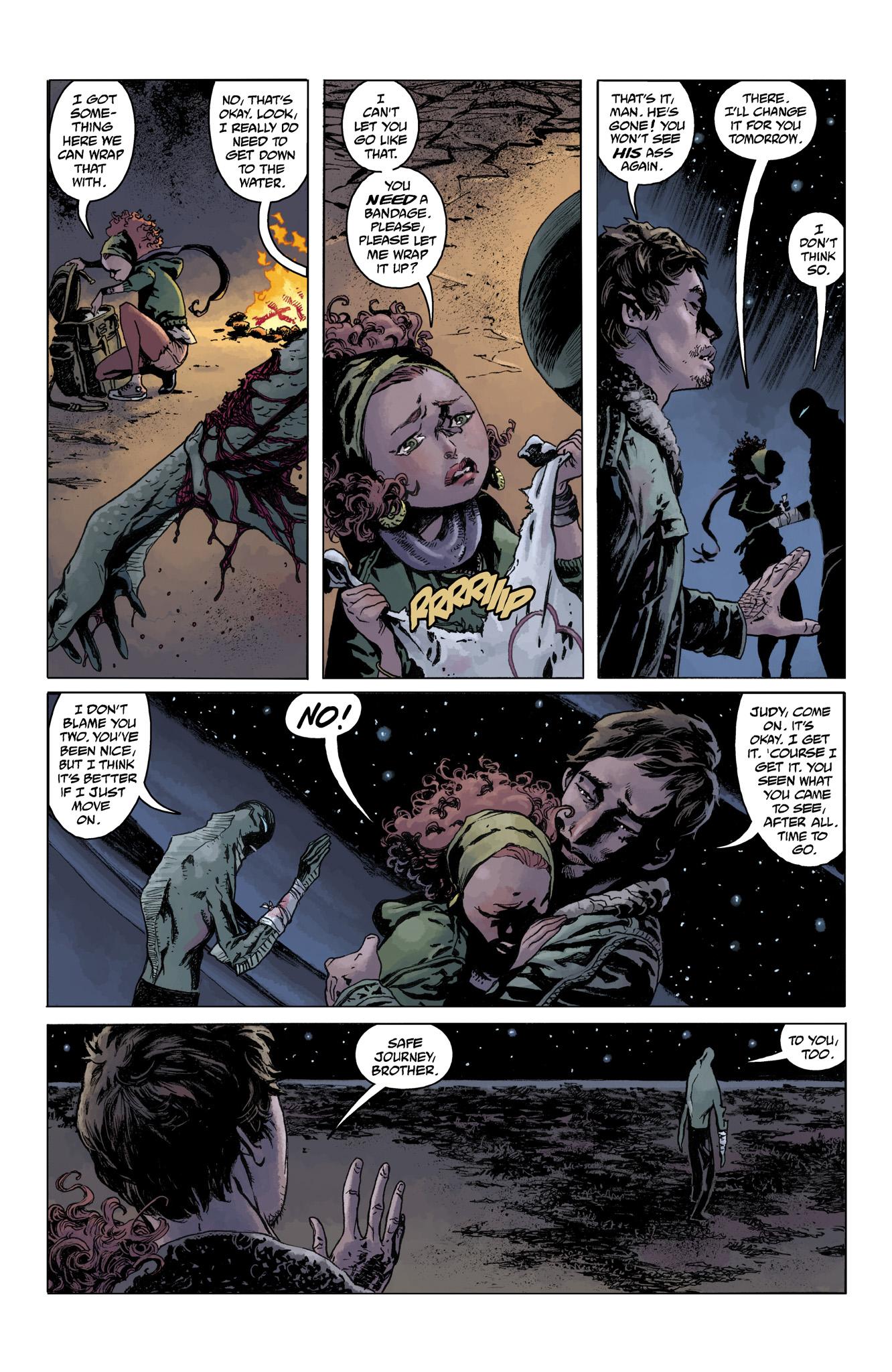 Read online Abe Sapien comic -  Issue #4 - 23