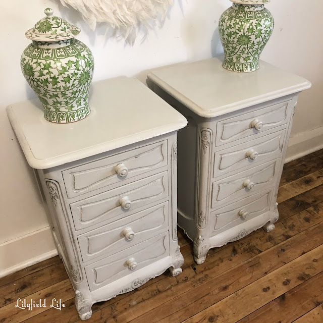french provincial bedside tables by lilyfield life