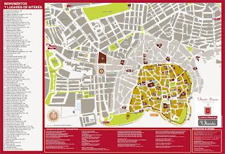 Mapa de Úbeda.