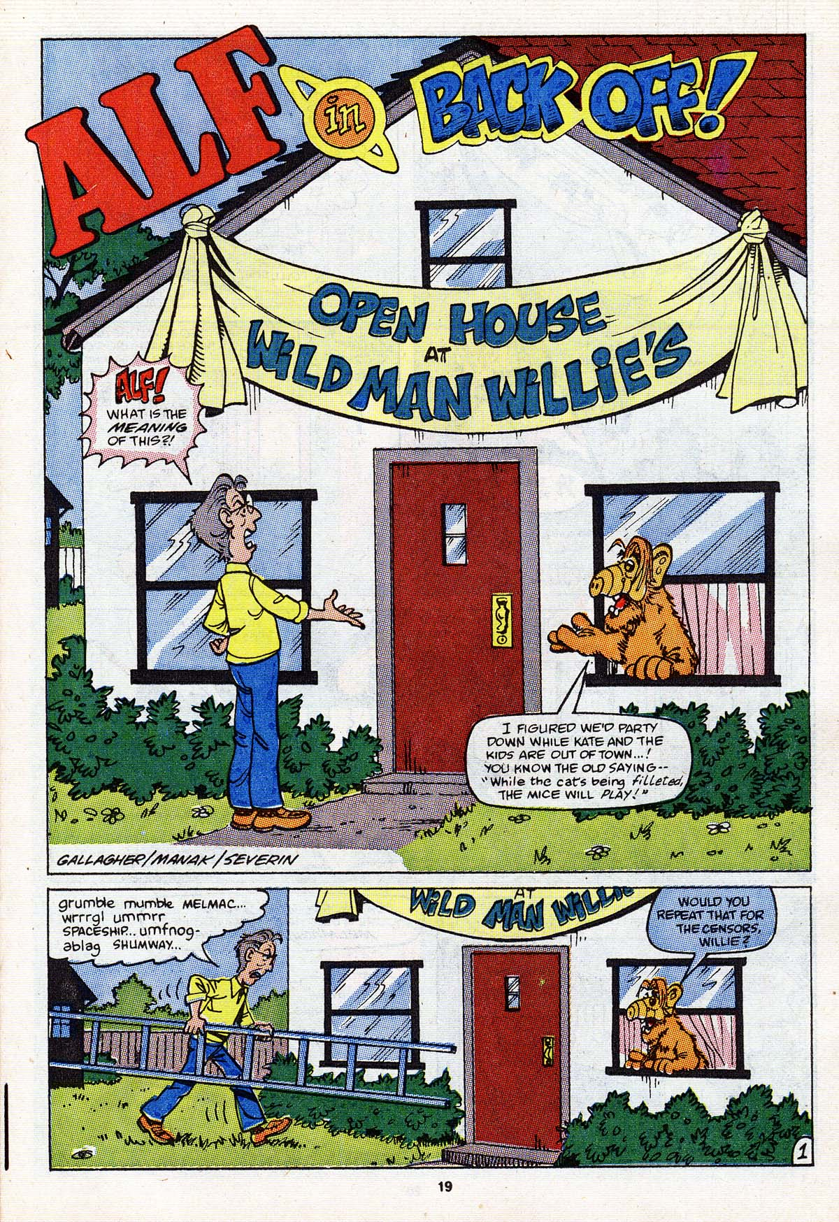 Read online ALF comic -  Issue #18 - 16