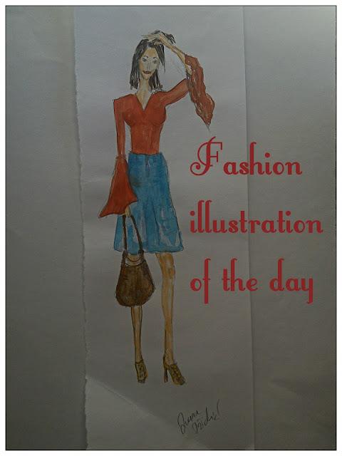 #denim #denimskirt #heels #oftd