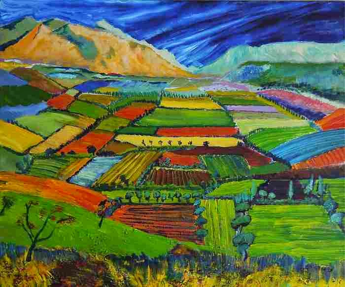 Традиционная живопись. Pedar (Peter) Dillon