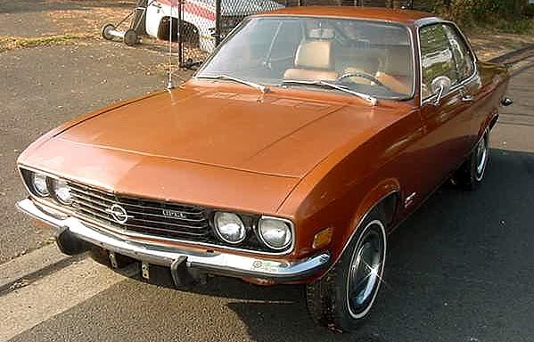 Opel manta 1973