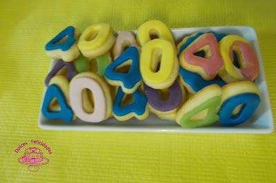 galletas número 40
