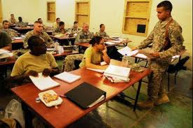 A course for U.S. military officers