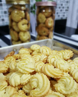 Resepi Butter Cookies Sukatan Cawan