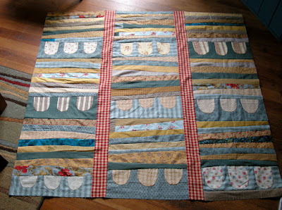 Finding My Way With Another Improv. Sort of Quilt