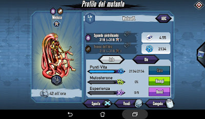 Mutants: Genetic Gladiators video N°376 Fusion/Fusione Medusa