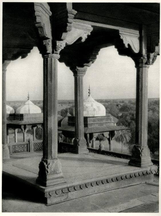 Akbar's Tomb in Sikandra near Agra, India - 1928