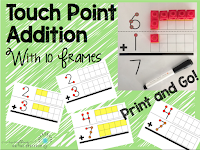 https://www.teacherspayteachers.com/Product/Touch-Point-Addition-With-10-Frames-2617206