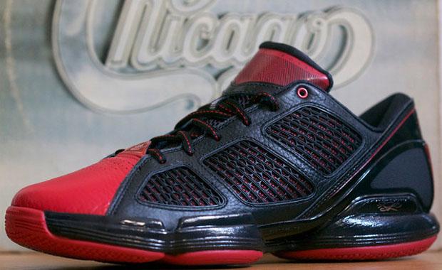 Adidas AdiZero Rose 1.5 Low Black Red bd32eeda4