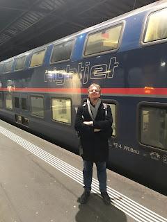 Nightjet alla stazione di Zurigo