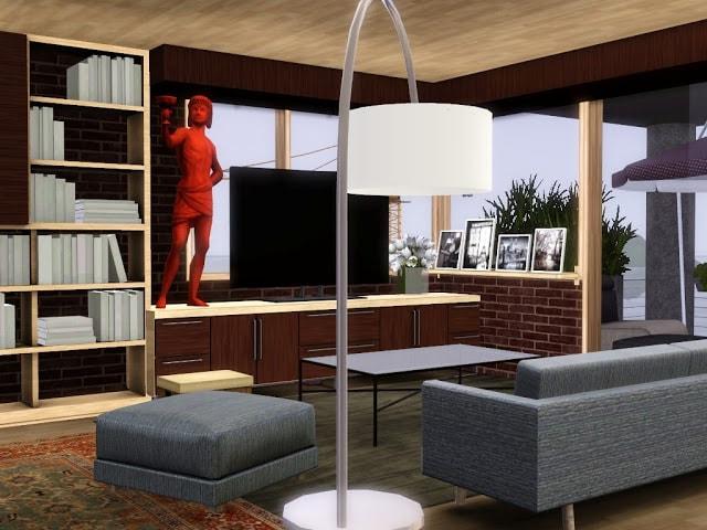 immeuble design sims 3 à télécharger