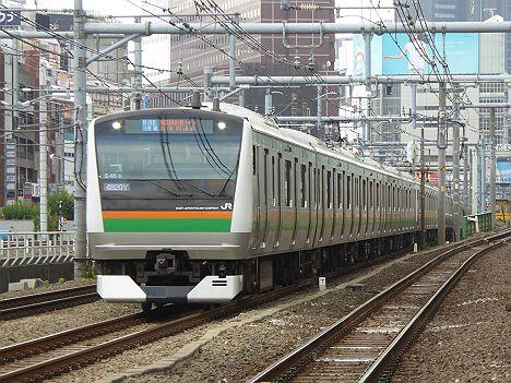 湘南新宿ライン 高崎線直通 特別快速 高崎行き1 E231系