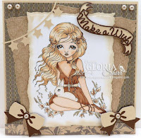 Featured Card at Colour My World With Lacy Sunshine