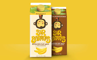 Sir bananas on packaging of the world creative package for Design agency usa