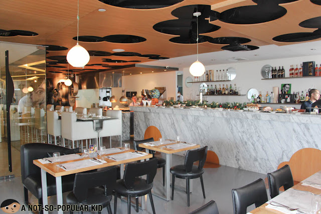 Interior of Vask Tapas Room