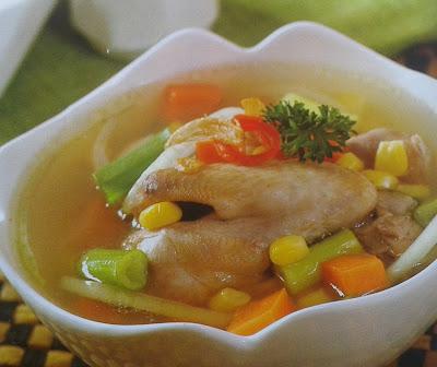 Cara Membuat Sup Ayam