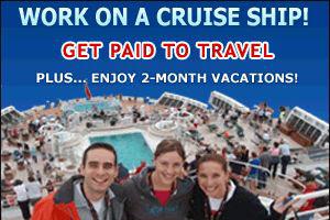 Ship Jobs Vacancies On Cruise Ship July 2016