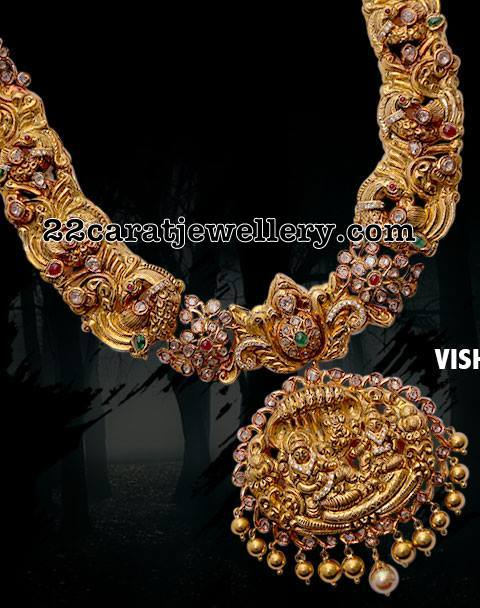 Antique Set with Vishnu Pendant