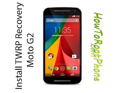 Install TWRP Recovery on Moto G2