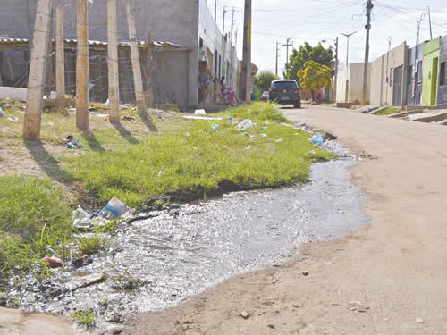 Saneamento ainda é uma realidade distante nos municípios cearenses