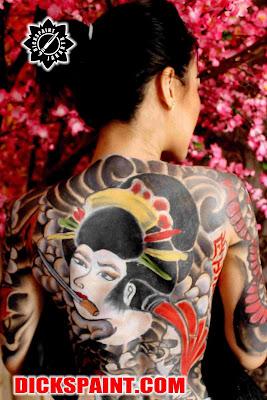 Body Painting Yakuza Jakarta