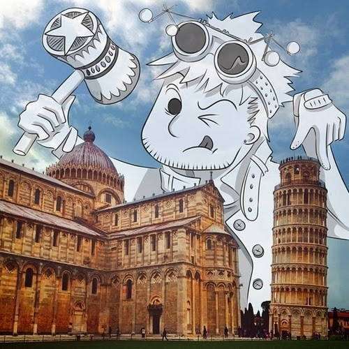 21-Tower-of-Pisa-in-Italy-Cheryl-H-The-Dreaming-Clouds-Drawings-www-designstack-co