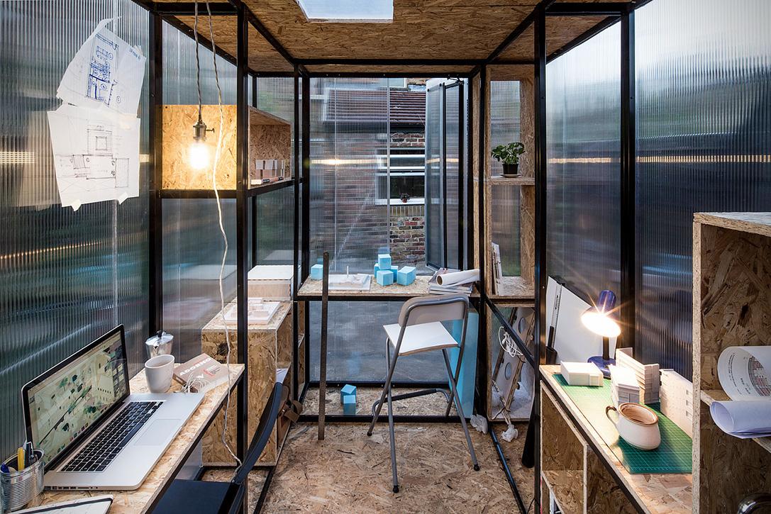 Shedworking Minima Moralia Rooftop Garden Office