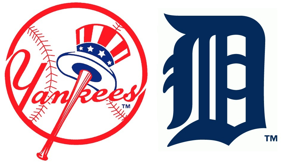 new york yankees vs detroit tigers series preview rh bronxbomberball com detroit tigers logo clipart Tiger Logo Clip Art