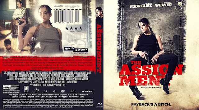 The Assignment Bluray Cover