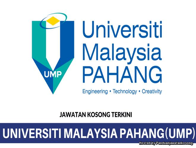 Iklan Jawatan Kosong Universiti Malaysia Pahang (UMP) (17 Mei 2018)