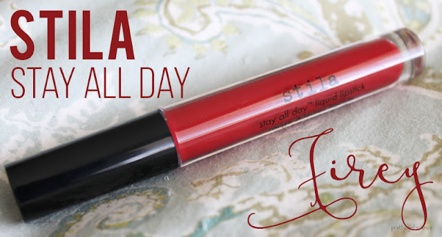 Stila Stay All Day Lipstick in Firey