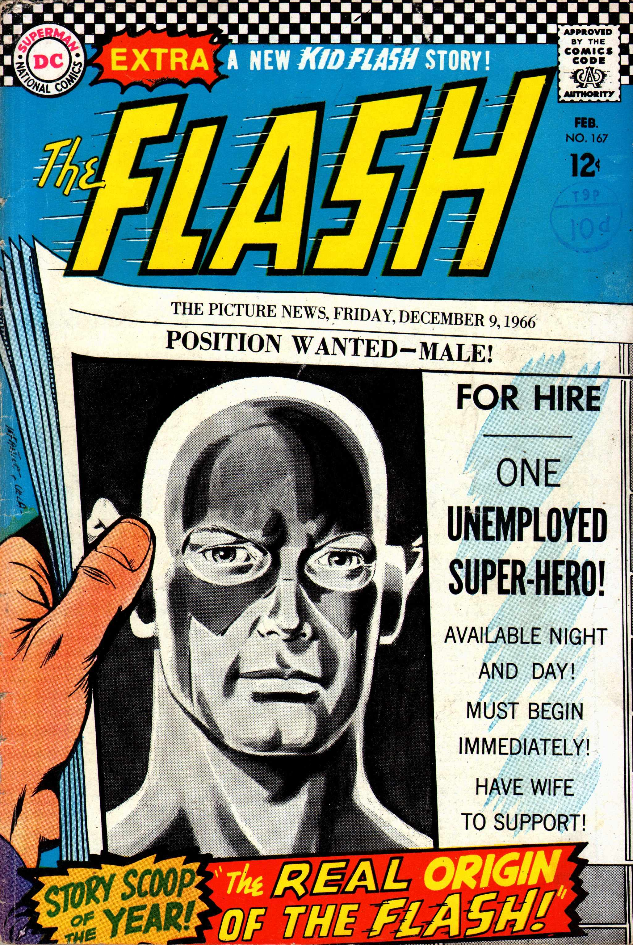 The Flash (1959) 167 Page 1